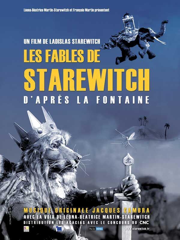 Les Fables de Starewitch - affiche