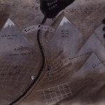 David Lynch - TWIN PEAKS MAP