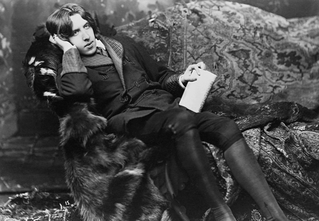 Portrait of Oscar Wilde